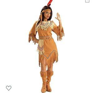 Women's Native American Maid Costume Small